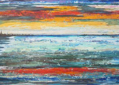 Galerie ohne Namen, Werner Kramer, Aludibond